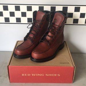 Red Wings Shoes sz 8D Brown NEW in box NIB